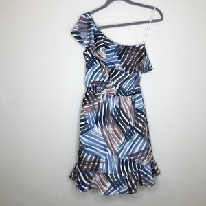 NWT Banana Republic one shoulder dress size 0